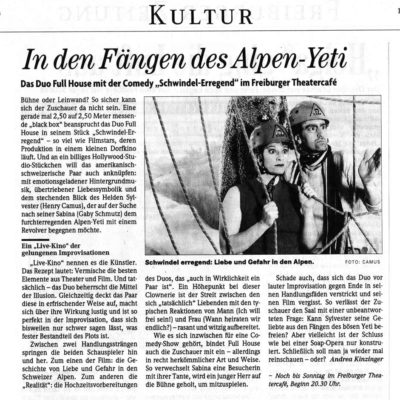 Press - Badische Zeitung - Duo Full House