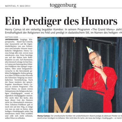 Press - Toggenburg - Duo Full House
