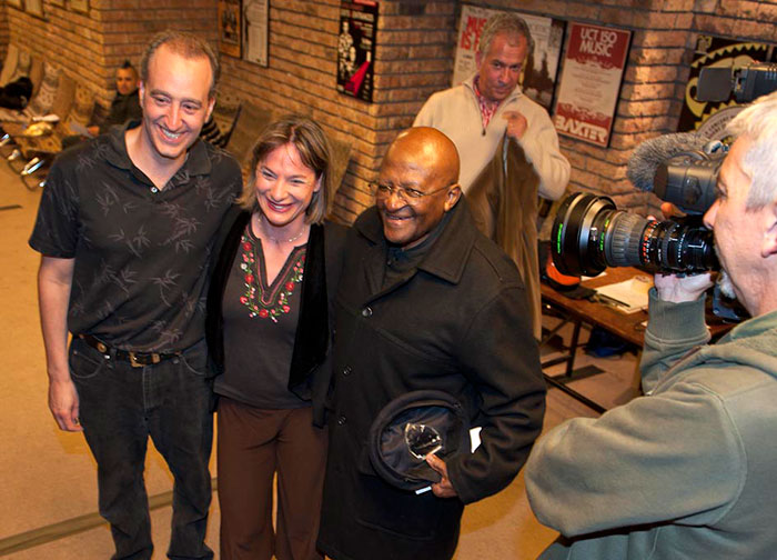 Desmond Tutu with Duo Full House